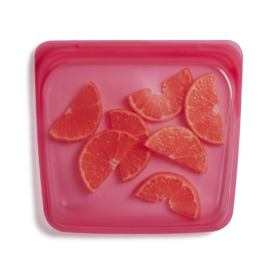 Daugkartinio naudojimo silikoninis stasher sumuštinių maišelis Avietė R00087