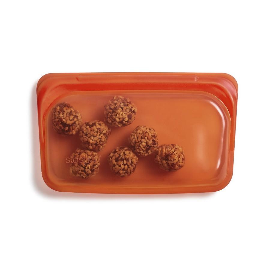 Daugkartinio naudojimo silikoninis užkandžių maišelis Citrus R00091