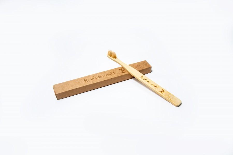 Bambukinio dantų šepetuko 4 vnt. prenumerata metams (pristatymas kas 3 mėnesius) R00094