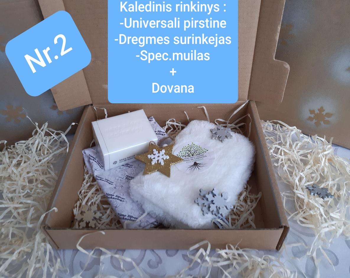 Kalėdinis perkamiausias eco rinkinys+ dovana nr 2