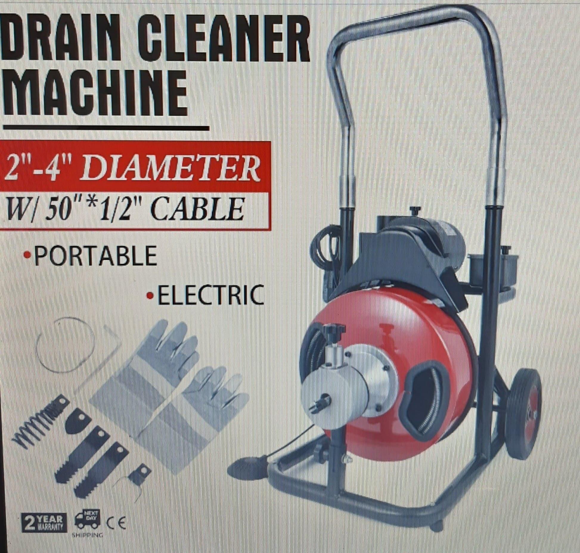 Kanalizacijos valymo mašina